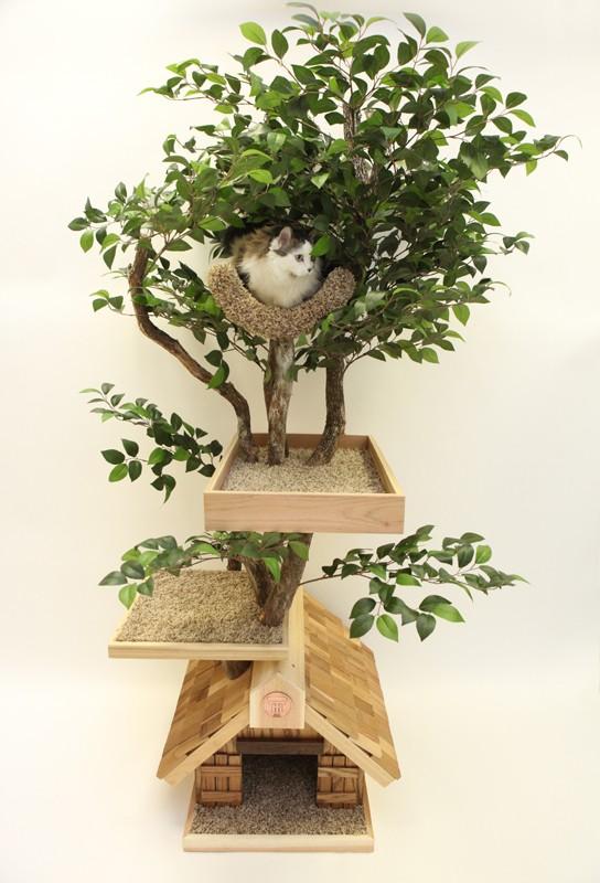 arbre à chat PetTreeHouse