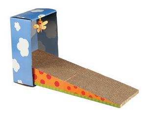 griffoir pliable en carton Wouapy - Wanimo - Absolument Chats