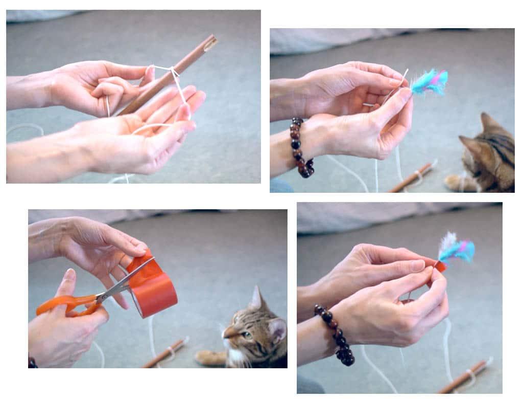 fabriquer canne à chat facile et pas cher- Absolument Chats