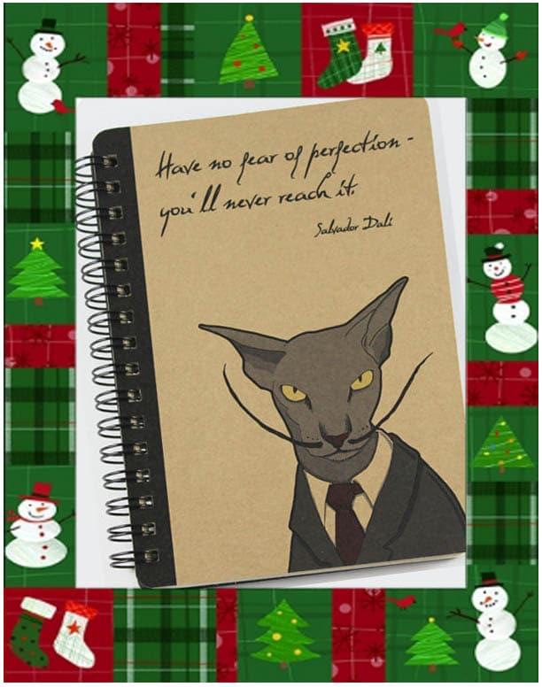 idées cadeaux noel-cahier de note 2