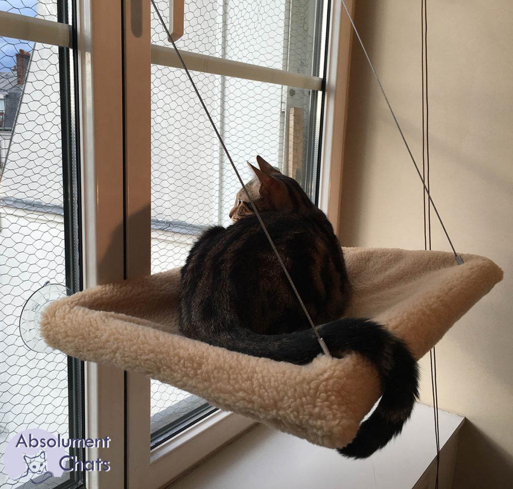 Chat hamac de fenêtre MadeForCats- AbsolumentChats 3