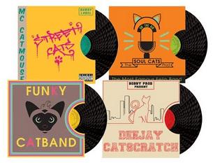 griffoir vinyl bobby _ Absolument Chats