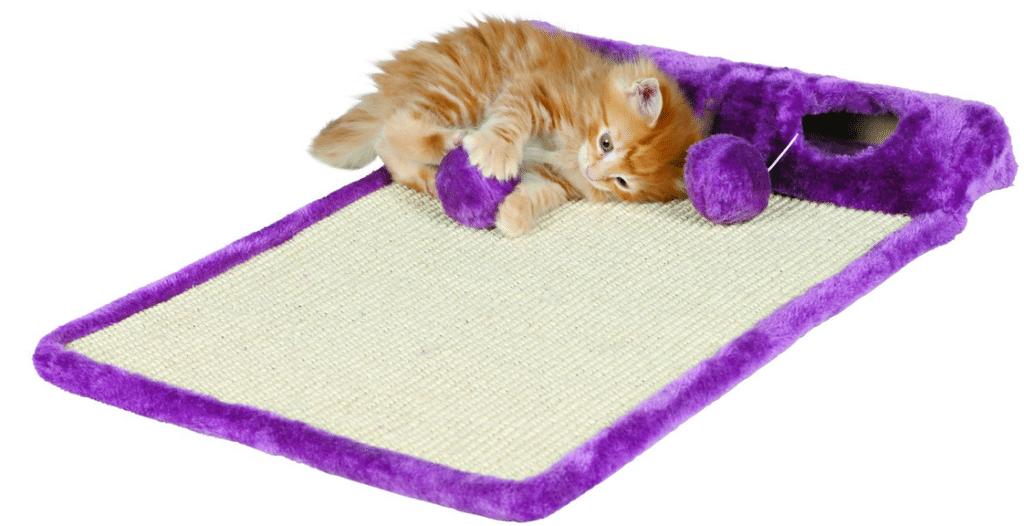 tapis griffoir et jeu MyKittuDarling Trixie - LaFermeDesAnimaux - Absolument Chats