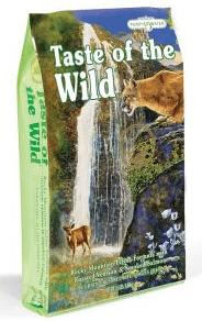 croquettes sans céréales, Taste of the wild - Absolument Chats
