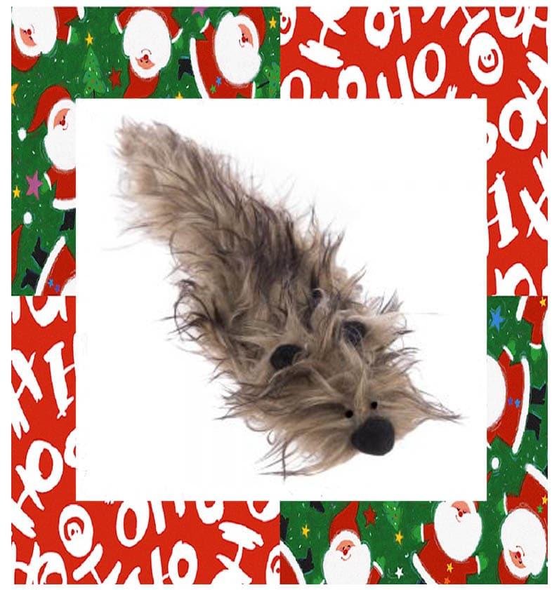 idées cadeaux noel-peluche furet pour chat