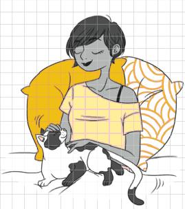 Mon cahier Mon chat & moi, solar_ Djoina Amrani, Marion Ruffié 2